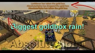 Biggest gold rain from AbsoluteAlpha!