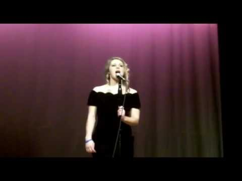"Sydney Brown singing Etta James ""I'd Rather Be Blind"""