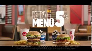 Burger King | EL KING MENÚ POR 5�...
