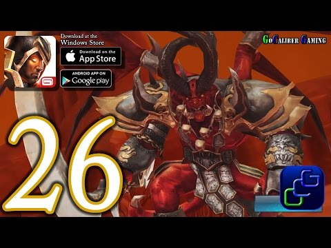 Dungeon Hunter 5 Android IOS Walkthrough - Part 26 - Solo Bounty 28-29 (HARD)