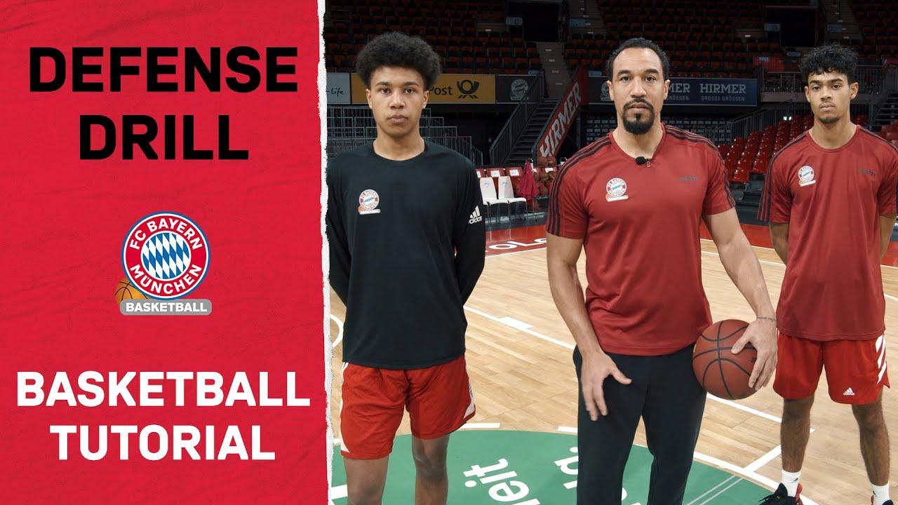 FCB Basketball Tutorial - Folge 6: Defense Drill feat. Demond Greene