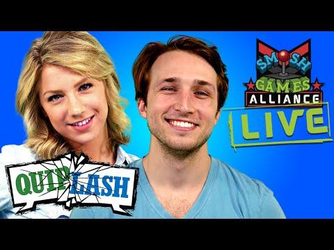 NOT SO HOSTILE SMOSH SQUAD TAKEOVER OF QUIPLASH LIVE (SGA Live)
