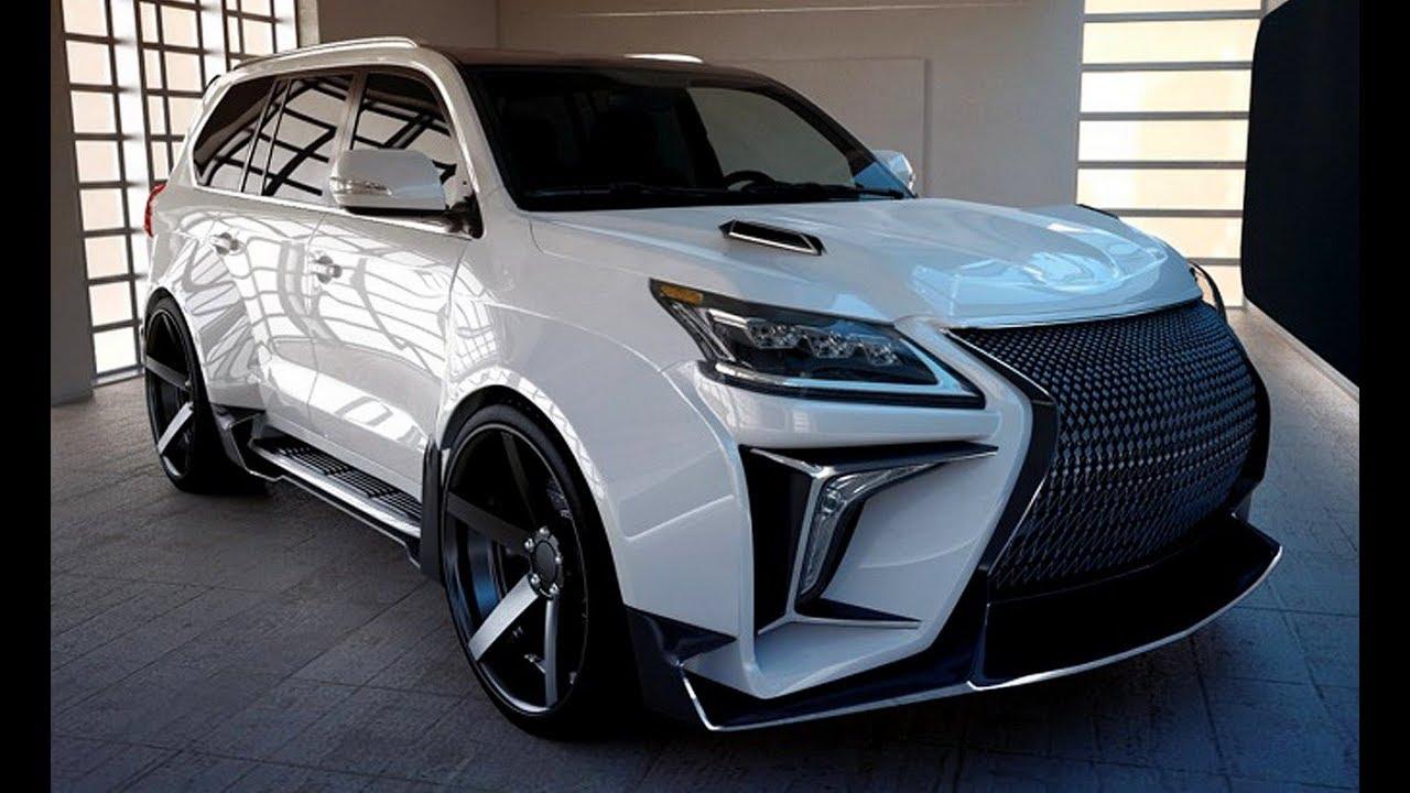 New 2018 Lexus Lx 570 Super Suv Exterior And Interior