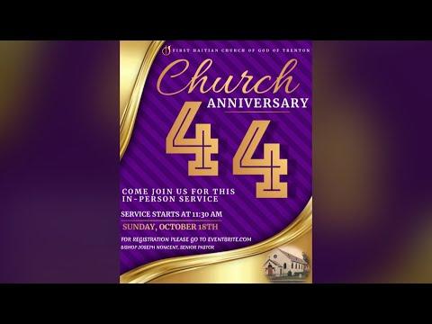 FHCOG 44th Anniversary Service (Creole)   10/18/20