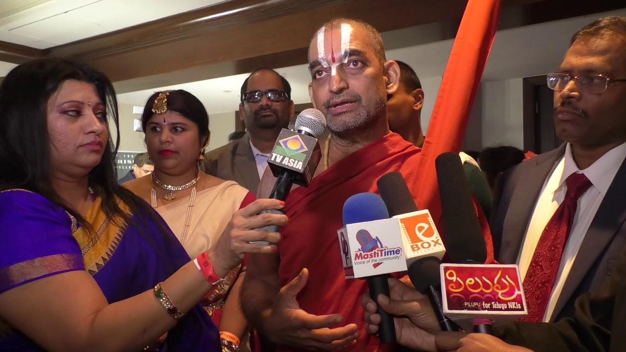 Sri Sri Sri Tridandi Srimannarayana Ramanuja Chinna Jeeyar Swamiji