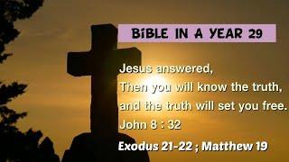 성경일년일독 29 (NIV, 개역개정): 출애굽기 21…