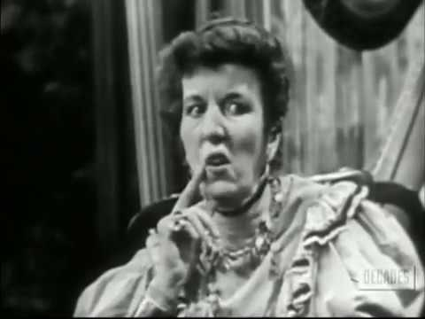 Miss Hargreaves--Mary Wickes, Melville Cooper, 1952 TV