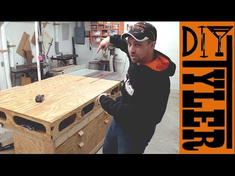 LTL -- All about the World's Best Outfeed / Assembly Table (I Think its the best!)