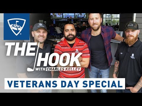 The Hook with Charles Kelley | Veterans Day Special | Topgolf