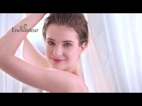 Quảng cáo sữa tắm nước hoa Pháp Enchanteur.