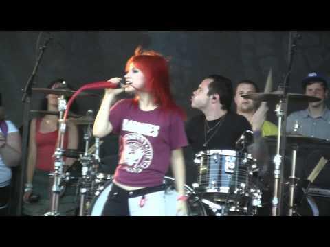 Paramore at Warped Tour-