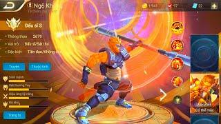 [Gcaothu] Trang phục Hỏa Địa Ngục của Ngộ Không ra mắt Liên Quân Mobile - Sức mạnh hủy diệt