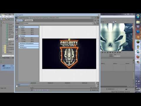 How to Make a Black Ops 2 Intro in Sony Vegas Pro 12,11,10,9,8