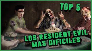 Top 5: Los Resident Evil más difíciles