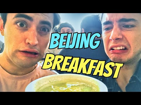 TOP 5 Beijing Breakfast! China's MOST DISGUSTING DRINK