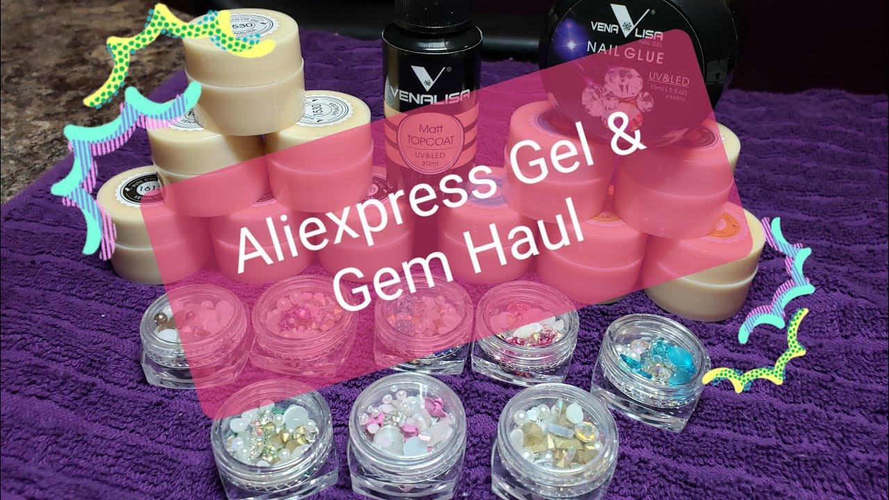 Aliexpress Gel and Gem Haul!!