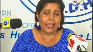 madre de preso poltico denuncia condiciones inhumanas ante la cpdh