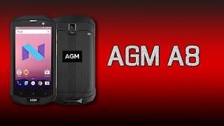 AGM A8 - полный обзор AGM A8 с памятью 32 Гб и 64 Гб! Краш тест защищённого смартфона!