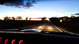 1965 GTO Launch and Takeoff with Exhaust sound
