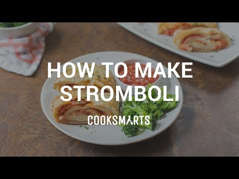 How to Make Stromboli | Healthy Dinner Recipes by Cook Smarts