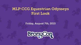 MLP:CCG Equestrian Odysseys First Look
