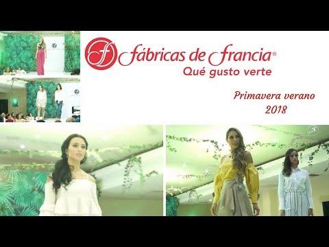 PRIMAVERA VERANO 2018  FABRICAS DE FRANCIA