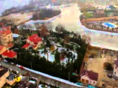 Невыездная Тимошенко живет в роскошном дворце рядом с Ющенко и Азаровым   Деньги   ТСН ua
