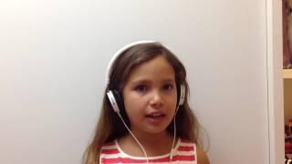 Inscrição Ana Clara no The Voice Kids 2016
