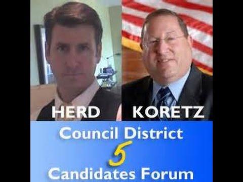 Paul Koretz fails - Mark Herd organizes and serves