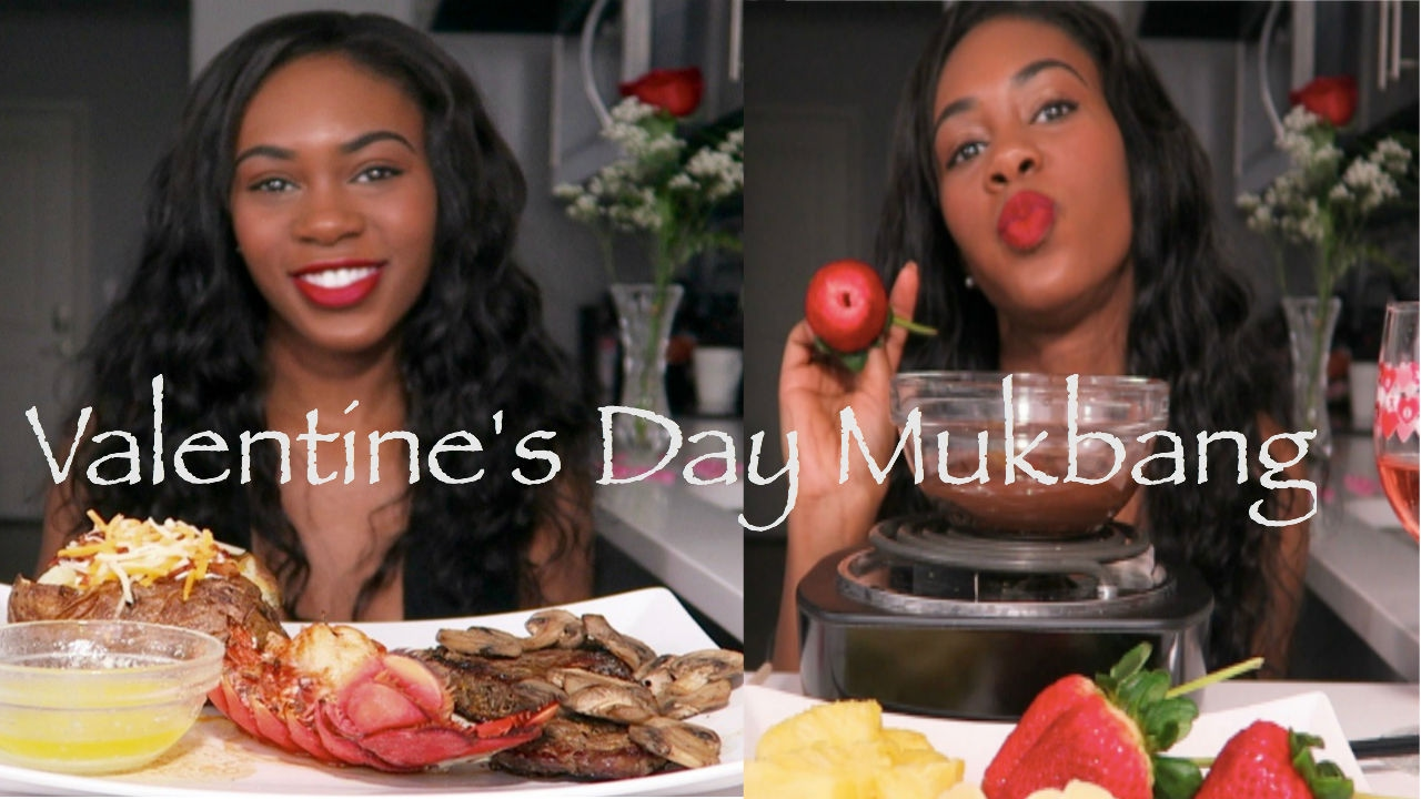 Valentine S Day Special Mukbang Eating Show Youtube