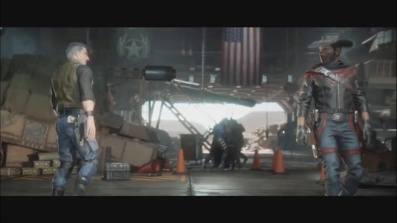 Mortal Kombat 11 Johnny Cage vs Erron Black