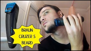 Триммер Для Бороды BRAUN CruZer 5 Beard | Обзор И Тест
