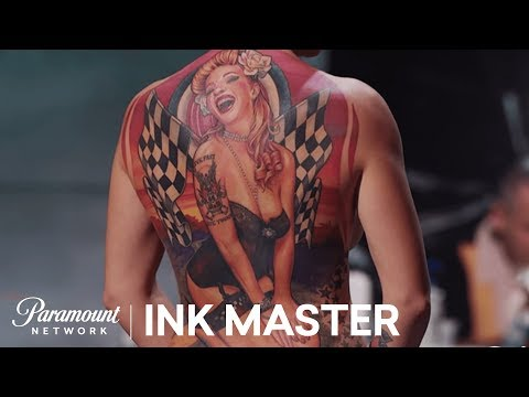 Chris Blinston's Master Canvas Is Smooth As Butter - Ink Master, Season 6