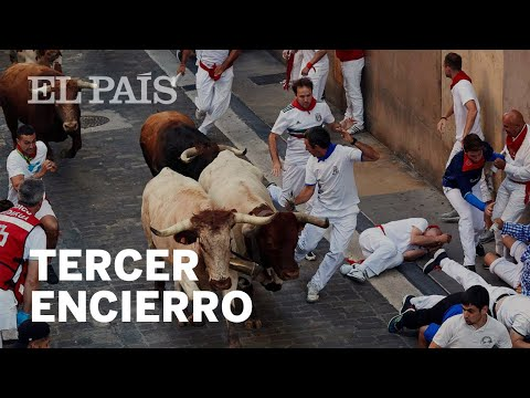 San Fermín: Dangerous but clean run at Day 3 of the Running of the
