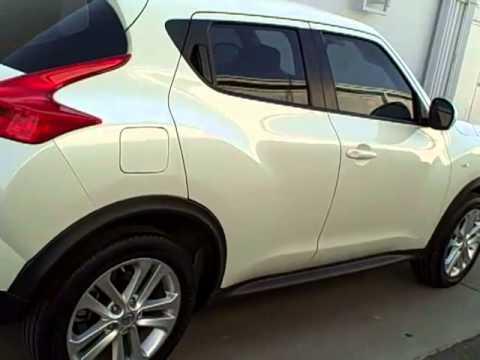 2012 Nissan Juke White Pearl N8026a Youtube
