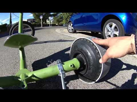 Crash test ruedas gordas de carretilla con pvc youtube - Ruedas de carretilla ...