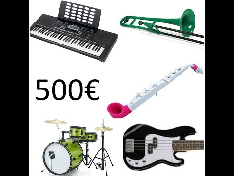 500€ - 5 NEW INSTRUMENTS - Cheapest Band In The World covers