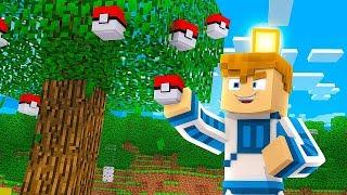 DRZEWO DAJĄCE POKEBALLE?!?!?! | Minecraft Pokemon #18