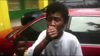 Talented Kid Singing Outside Puregold Clark