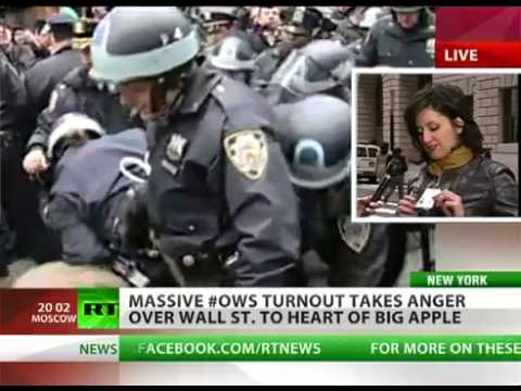 NYPD blast LRAD Sonic weapon against OWS protest