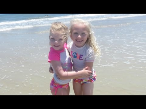 KINZ SURFING AT THE BEACH! │6•4•16 DAILY VLOG