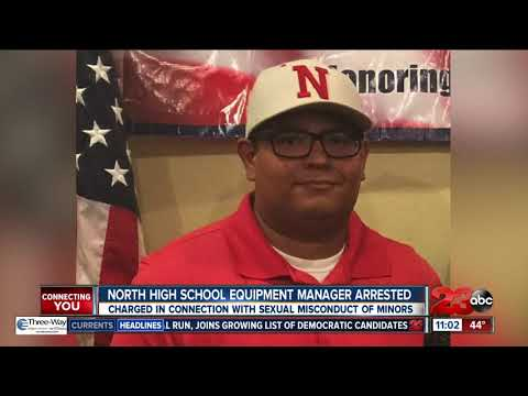 North High School Equipment Manager Arrested - Video