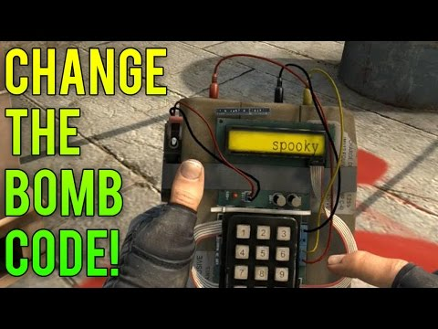 How to Change The Bomb Code for CS GO!