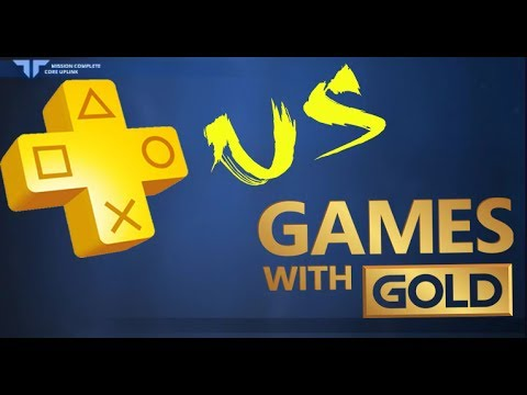 Ps Plus Vs Xbox Games With Gold Ps Now Vs Xbox Games Pass