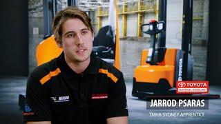 Meet Jarrod our 2021 TMHA Forklift Apprentice