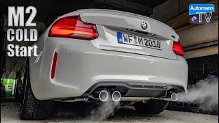 2018 BMW M2 Facelift - Cold-Start SOUND (60FPS)