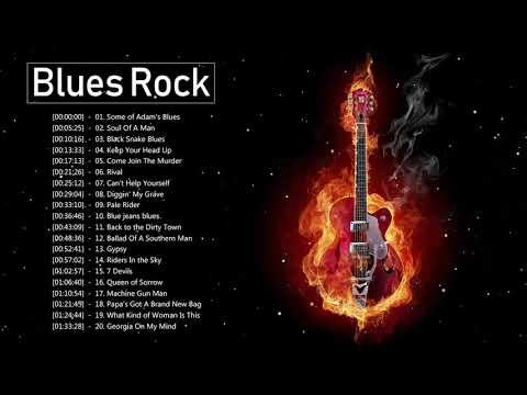 Blues Rock & Southern Rock Badass 🎶 Greatest Blues Rock Music Playlist