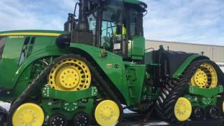 John Deere 9620 RX Cold Canadian Start