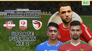 Gambar cover UPDATE PUTARAN KE 2 WINNING ELEVEN MOD LIGA SHOPEE 75MB