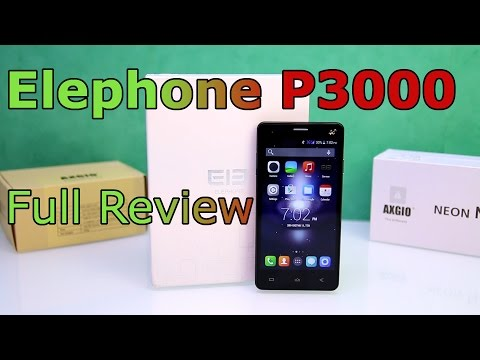 Elephone P3000 Review - 4G LTE Phone - 140$ China Phone with Fingerprint Scanner ! [HD]